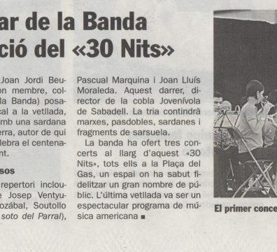 Banda de Sabadell 28.7.2007